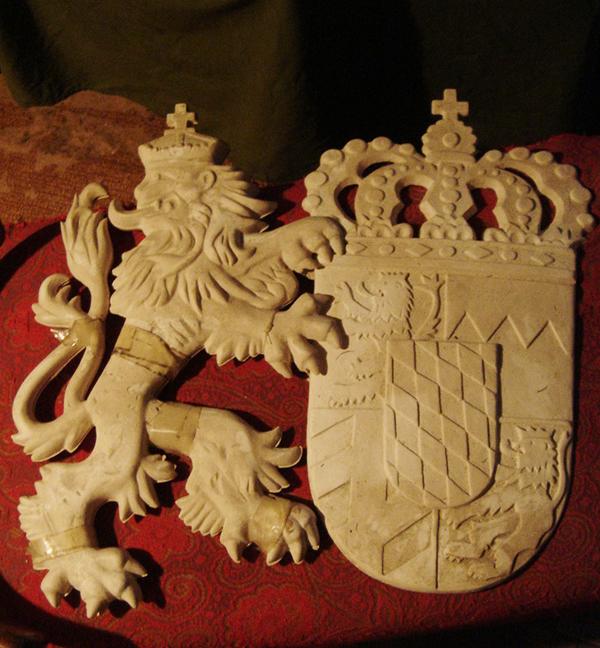 Создание гипсовой модели герба