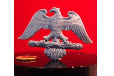 восковая модель орла