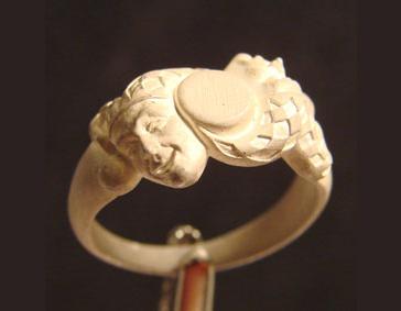 Внешний вид мастер модели ювелирного кольца