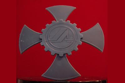 Восковая модель логотипа