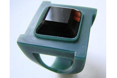 Вид восковой модель кольца