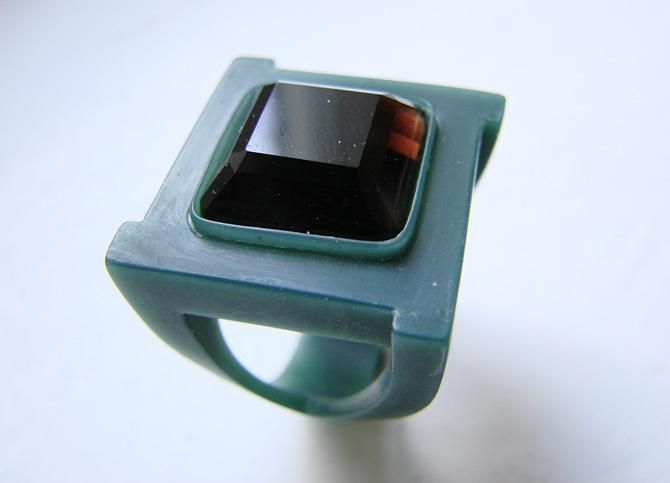 Внешний вид восковой модели ювелирного кольца