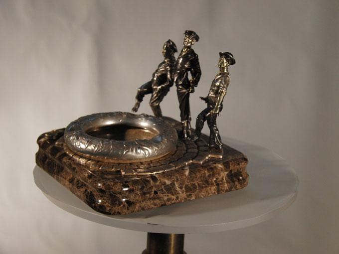 Изготовление индивидуальных ювелирных моделей комплекта Гуляки