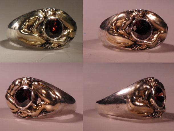 Изготовление индивидуальных ювелирных моделей кольца Взаимности